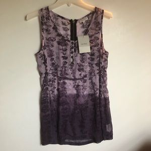 A PEA IN THE POD Sleeveless Maternity TOP NWT